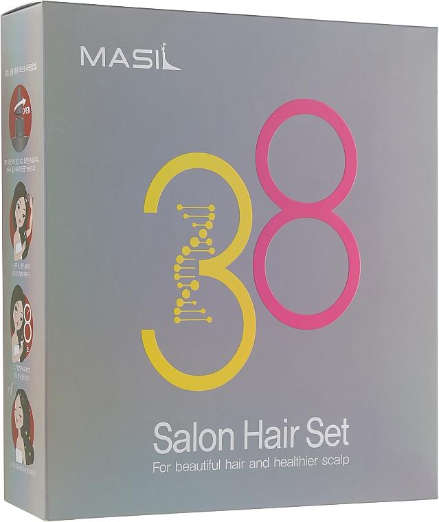 Набор - Masil 8 Seconds Salon Hair Set (mask/200ml + mask/8ml + shm/300ml + shm/8ml )
