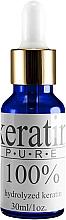 Духи, Парфюмерия, косметика Кератин для волос - Natur Planet Serum Keratin Pure 100%