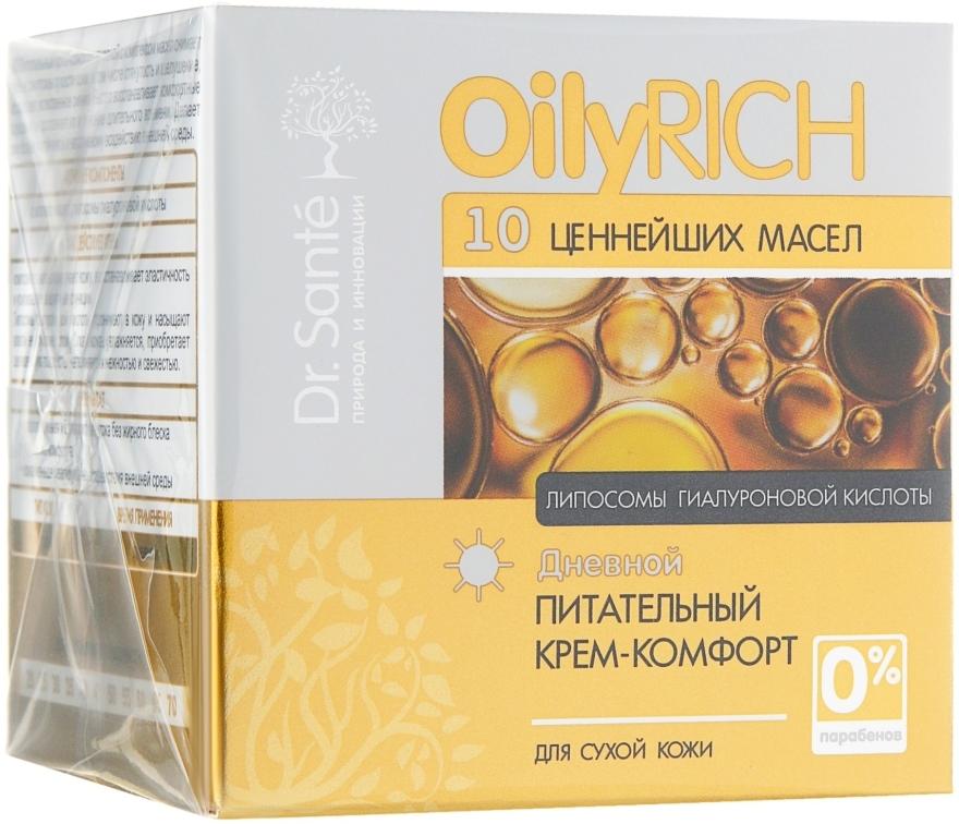 Питательный крем-комфорт для лица - Dr. Sante Oily Rich