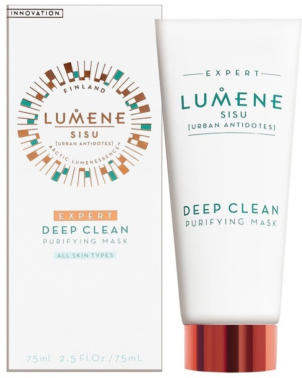 Маска для лица глубоко очищающая - Lumene Sisu Expert Deep Clean Purifying Mask