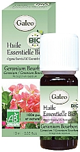 Духи, Парфюмерия, косметика Органическое эфирное масло герани бурбонской - Galeo Organic Essential Oil Geranium Bourbon