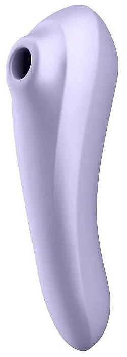 Вакуумный стимулятор, лиловый - Satisfyer Dual Pleasure Mauve