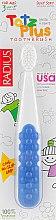 Духи, Парфюмерия, косметика Зубная щетка детская, сине-белая - Radius Tots Plus Toothbrush