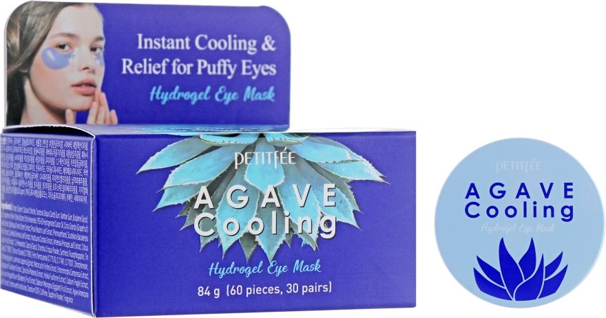 Гидрогелевые охлаждающие патчи для глаз с экстрактом агавы - Petitfee&Koelf Agave Cooling Hydrogel Eye Mask