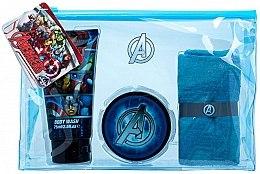 Духи, Парфюмерия, косметика Набор - Marvel Avengers (hair/gel/75ml + sh/gel/75ml + towel + bag)