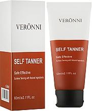 """Духи, Парфюмерия, косметика Крем-автозагар для тела """"Лифтинг и увлажнение"""" - Veronni Tinted Self-Tanning"""