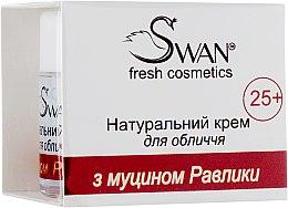 Духи, Парфюмерия, косметика Натуральный крем для лица с муцином улитки, 25+ - Swan Face Cream