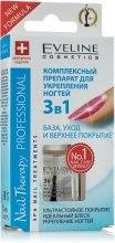 Парфумерія, косметика Експрес-сушка і захисне покриття 3в1 - Eveline Cosmetics Nail Therapy Professional