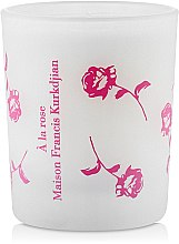 Духи, Парфюмерия, косметика Maison Francis Kurkdjian À La Rose - Парфюмированная свеча (тестер)