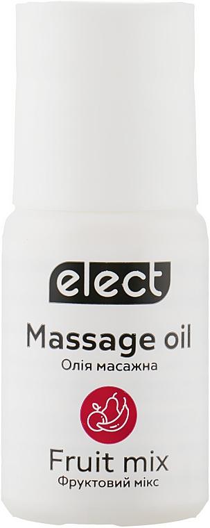 """Массажное масло """"Фруктовый микс"""" - Elect Massage Oil Fruit Mix (мини)"""