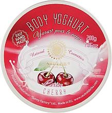 """Духи, Парфюмерия, косметика Йогурт для тела """"Вишня"""" - Saules Fabrika"""