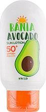 Духи, Парфюмерия, косметика Лосьон с авокадо с солнцезащитой - Milatte SWLD Bania Avocado Sun Lotion SPF50+ PA++++