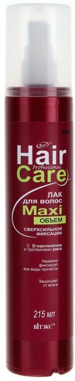 Лак для волос - Витэкс Professional Hair Care Maxi
