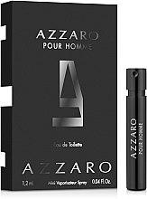 Духи, Парфюмерия, косметика Azzaro Pour Homme - Туалетная вода (пробник)
