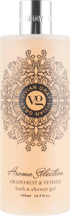 Гель для душа - Vivian Gray Aroma Selection Grapefruit & Vetiver Bath Shower Gel