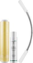 Духи, Парфюмерия, косметика Набор для антицеллюлитного обертывания и самомассажа - EffiDerm ( b/gel/250ml + wrapping film/300m + massager)