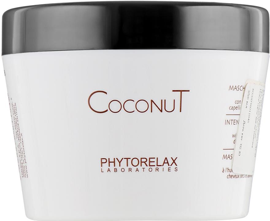 Увлажняющий интенсивная маска - Phytorelax Laboratories Coconut oil hair care