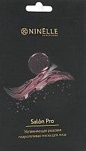 Духи, Парфюмерия, косметика Увлажняющая гидрогелевая розовая маска для лица - Ninelle Salon Pro