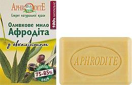 Духи, Парфюмерия, косметика Оливковое мыло с эвкалиптом - Aphrodite Olive Oil Eucalyptus Soap