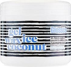 Духи, Парфюмерия, косметика Гель-воск экстра-сильной фиксаци с кокосом - Glossco Gel Wax Ice Coconut