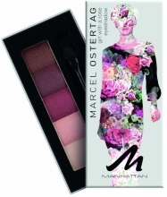 Духи, Парфюмерия, косметика Тени для век - Manhattan Eyeshadow Palette By Marcel Ostertag