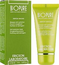 Очищуюча детоксицируюча маска - Ericson Laboratoire Bio-Pure Detox Maxx Anti-Pollution Mask — фото N2