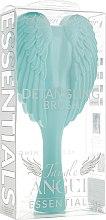 Духи, Парфюмерия, косметика Расческа-ангел, мятный + серый - Tangle Angel Essentials Detangling Brush Aqua