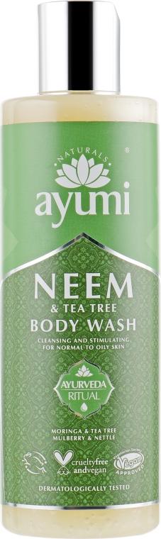 Гель для душа - Ayumi Neem & Tea Tree Body Wash