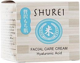 Духи, Парфюмерия, косметика Увлажняющий крем для лица с гиалуроновой кислотой - Shurei Facial Care Cream Hyaluronic