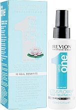 Духи, Парфюмерия, косметика Спрей для волос с ароматом цветка лотоса - Revlon Professional Uniq One Hair Treatment