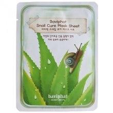 Духи, Парфюмерия, косметика Улиточная тканевая маска для лица - Baviphat Snail Cure Mask Sheet