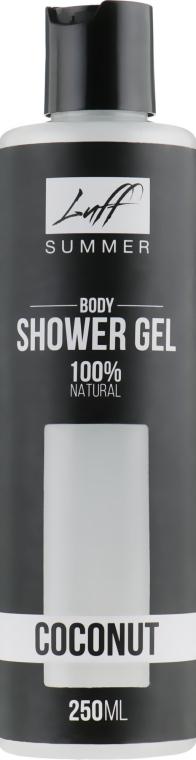 """Натуральный гель для душа """"Кокос"""" - Luff Shower Gel Coconut"""