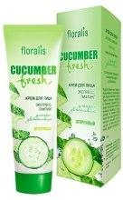 Духи, Парфюмерия, косметика Крем для лица экспресс-лифтинг - Floralis Cucumber Fresh Face Cream