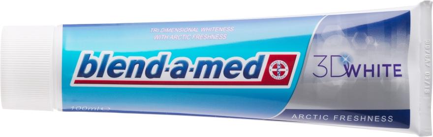 """Зубная паста """"Арктическая свежесть"""" - Blend-a-med 3D White Arctic Freshness — фото N2"""