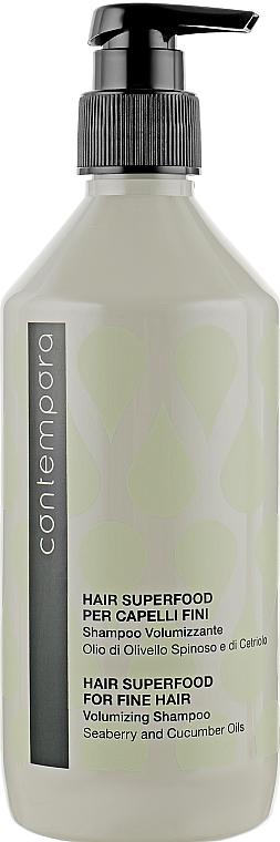 Шампунь для придания объема - Barex Italiana Contempora Fine Hair Volumizing Shampoo