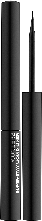 Подводка для глаз супер-стойкая - Wunder2 Super-Stay Liquid Eyeliner Black