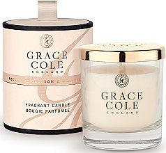 Духи, Парфюмерия, косметика Ароматизированная свеча - Grace Cole Boutique Nectarine Blossom & Grapefruit Fragrant Candle