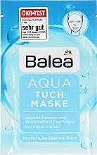 Духи, Парфюмерия, косметика Тканевая маска для лица - Balea Aqua Facial Mask