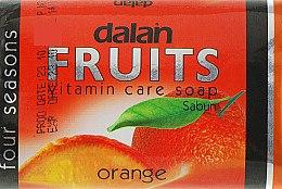"""Духи, Парфюмерия, косметика Туалетное мыло """"Апельсин"""" - Dalan Fruits Soap"""