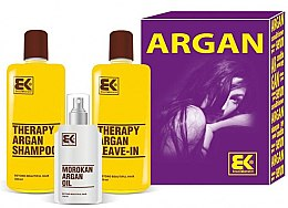 Духи, Парфюмерия, косметика Набор - Brazil Keratin Therapy Argan (shm/300ml + cond/300ml + oil/100ml)