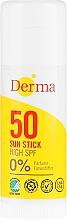 Духи, Парфюмерия, косметика Стик солнцезащитный - Derma Sun Sun Stick High SPF50