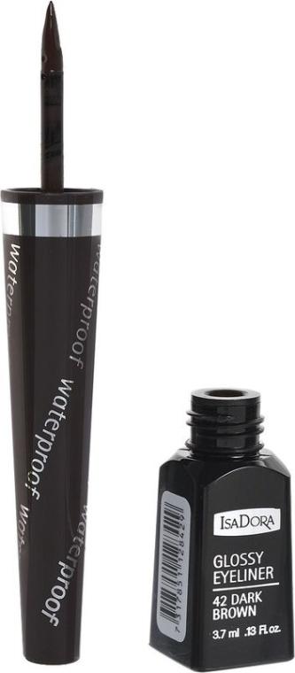 Підводка для очей - IsaDora Glossy Eyeliner — фото N1