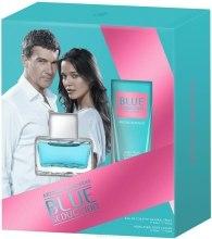 Духи, Парфюмерия, косметика Blue Seduction Antonio Banderas woman - Набор (edt 50ml + b/l 50ml)