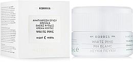 Парфумерія, косметика Нічний крем для корекції глибоких зморшок - Korres White Pine