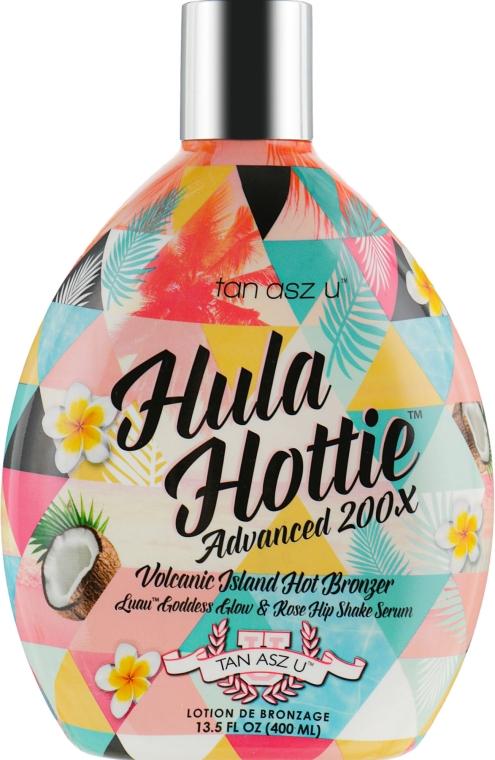 Крем для загара в солярии с тинглами и темными бронзантами, с подтягивающим эффектом - Tan Asz U Hula Hottie Hot 200X