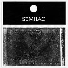 Духи, Парфюмерия, косметика Декор для маникюра - Semilac 06 Transfer Nagelfolie Semilac Black Lace