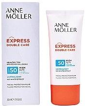 Духи, Парфюмерия, косметика Солнцезащитный флюид для лица - Anne Moller Double Care Ultralight Facial Protection Fluid SPF50