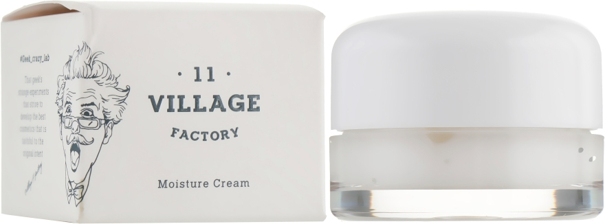 Увлажняющий крем для лица - Village 11 Factory Moisture Cream