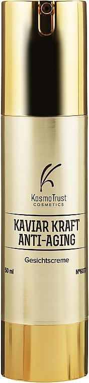 Крем для лица с экстрактом черной икры и золотом - KosmoTrust Cosmetics Kaviar Kraft Anti-Aging