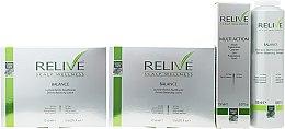 Духи, Парфюмерия, косметика Набор - Green Light Relive Scalp Wellness (sh/250ml + fluid/150ml + lotion/12x8ml + lotion/12x8ml)